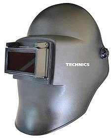 Сварочная маска Technics литая с откидным стеклом (16-451)