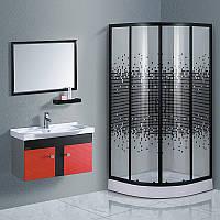 Комплект Sansa: душевой угол S-90/15 и мебель для ванной S0149