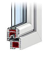 Металлопластиковые окна REHAU Euro-Design 70