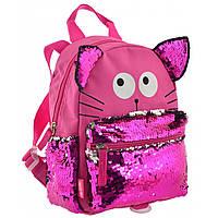 Рюкзак дитячий K-19 Funny Cat, Yes