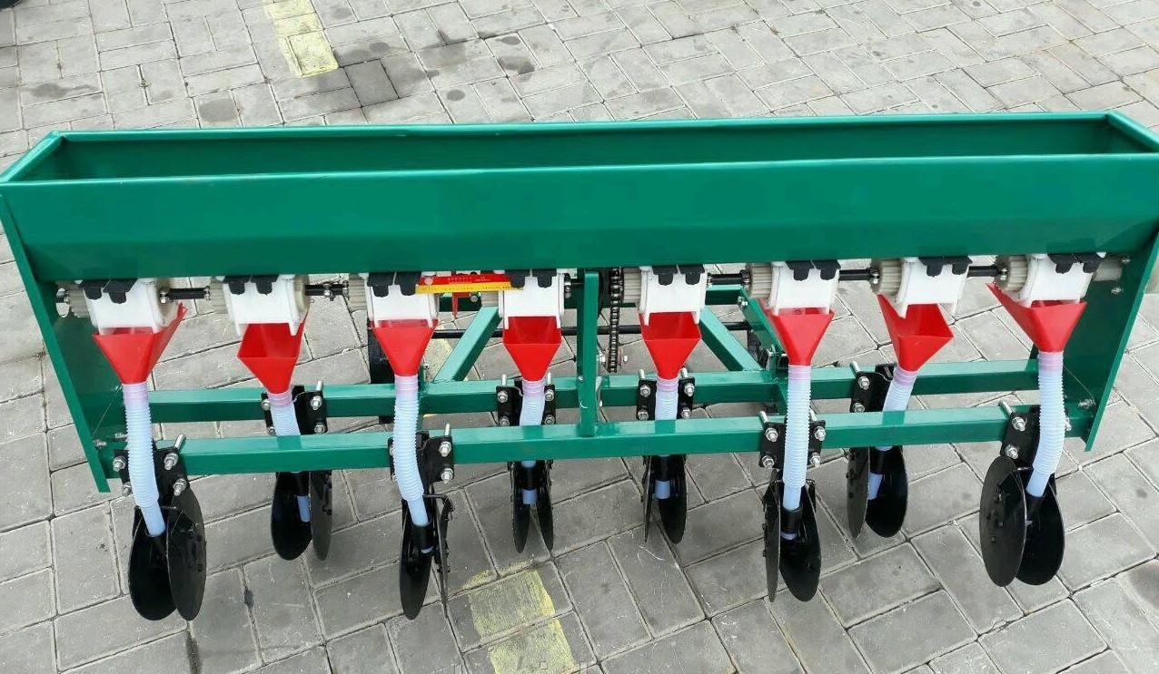 Сівалка зернова дискова на 8 рядів для мотоблока або мототрактора Бут