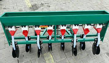 Сеялка зерновая дисковая на 8 рядов для мотоблока или мототрактора Бут