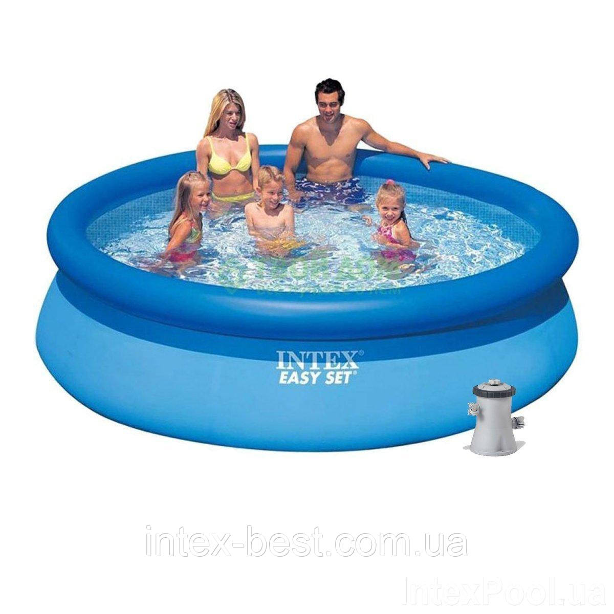 Надувной бассейн Intex 28122 (56922) Easy Set Pool (305х76 см)