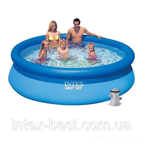 Надувной бассейн Intex 28122 (56922) Easy Set Pool (305х76 см), фото 2