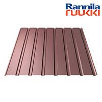 Металопрофіль Rannila T15 Polyester rought matt 0.45мм