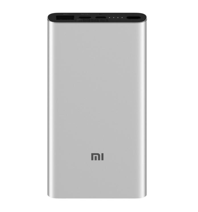 Xiaomi Power bank 3 10000mAh Type-C PLM12ZM Silver / Black (Серебряный / Черный)