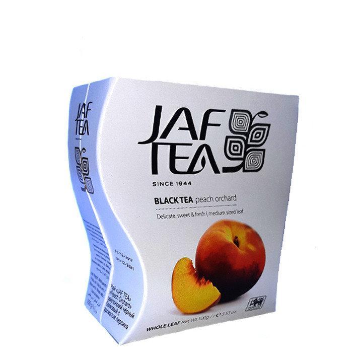 Чай чёрный Jaf Tea Peach-Apricot Персик-Абрикос 100г