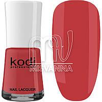 Лак для ногтей Kodi Professional №017, 15 мл малиново-красный