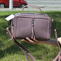 "Женская кожаная сумка ""Касандра Lilac"", фото 1"