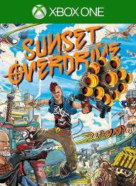 Игра для игровой консоли Xbox One, Sunset Overdrive (БУ)