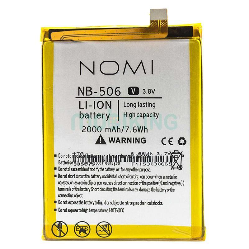 Оригинальная батарея на Nomi i506 Shine (NB-506) для мобильного телефона, аккумулятор для смартфона.