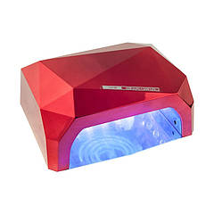 УФ лампа Kronos CCFL+LED UV D-058 36 Вт Красный (sp_3694)