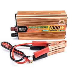 Преобразователь UKC 24V-220V 1000W автомобильный инвертор (sp_1911)