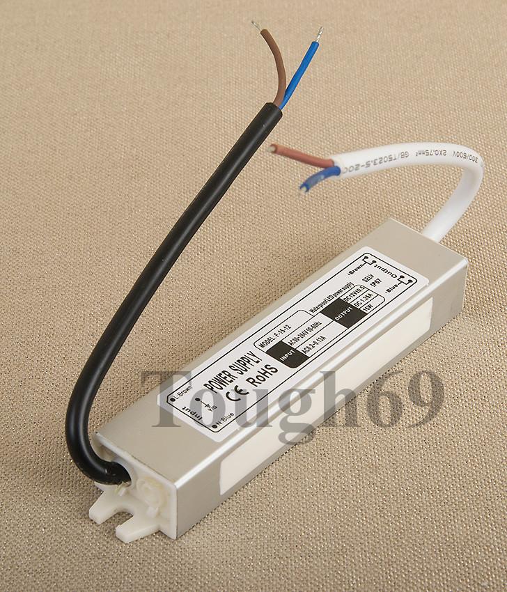 Dilux - Блок питания герметичный 15Вт, 12В, 1,25А, IP67. Premium класс, гарантия 2года.