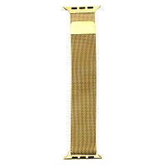 Ремешок для Apple Watch Milanese Loop 38 mm Gold