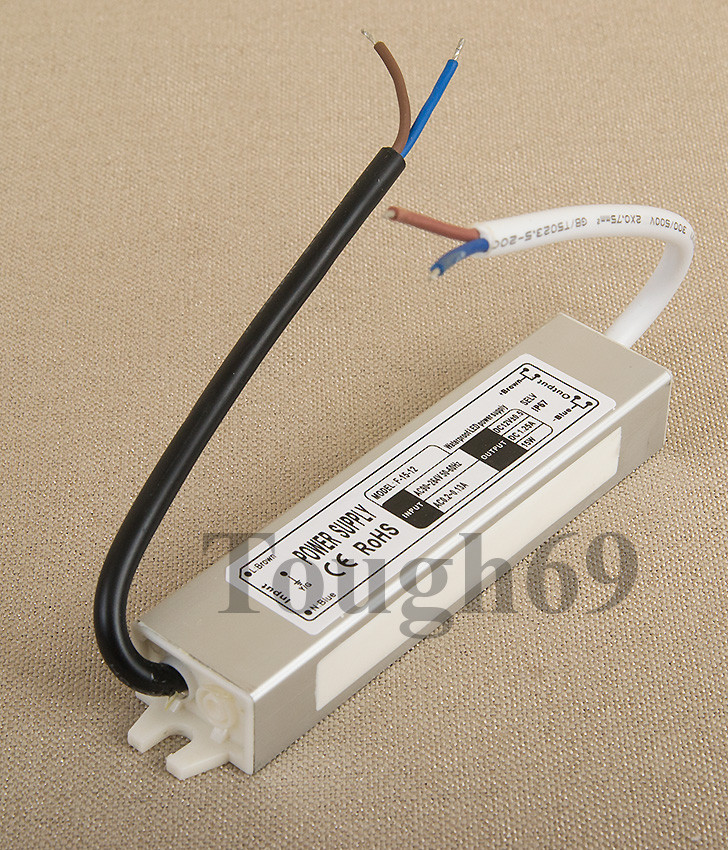 Dilux - Блок питания герметичный 25Вт, 12В, 2,1А, IP67. Premium класс, гарантия 2года.