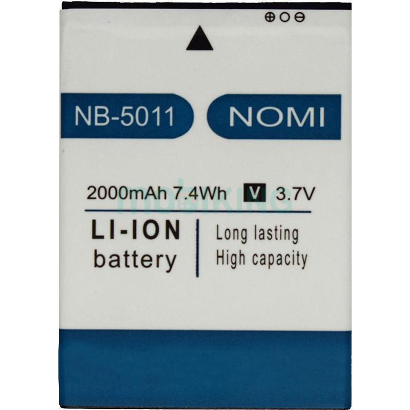 Оригинальная батарея на Nomi i5011 (NB-5011) для мобильного телефона, аккумулятор для смартфона.