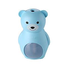 Арома увлажнитель воздуха Мишка Голубой