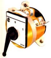 Кулачковый переключатель 3-полюсный (1-0-2) 315А