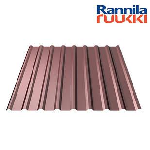 Металопрофіль  Rannila T20 Polyester matt 0.45мм