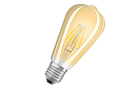 Прозрачная лампочка Filament  ST64 8Вт Е27, FL418 Biom