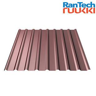 Металопрофіль RanTech T20 Polyester rought matt 0.45мм