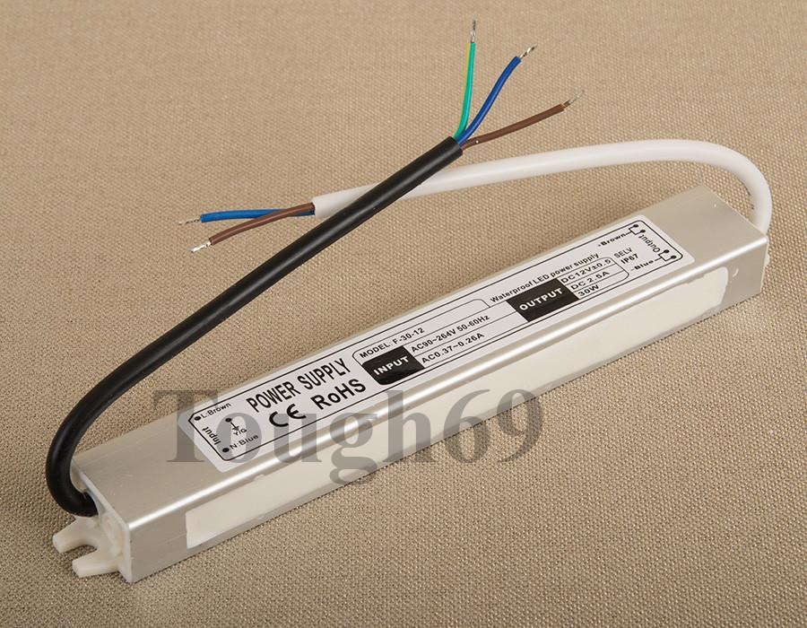 Dilux - Блок питания герметичный 45Вт, 12В, 3,75А, IP67. Premium класс, гарантия 2года.