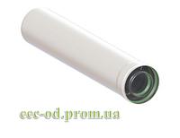 Коаксиальный удлинитель для турбо котла 80х125 L=1000