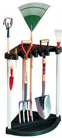 Органайзер для садовых инстурментов Corner Tool Rack Черно-серый (Keter TM)