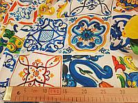 Креп-шовк Майоліка лимон тканину для одягу