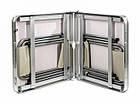 Стол алюминиевый раскладной для пикника + 4 стула (Чемодан) Усиленный , фото 7