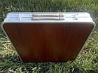 Стол алюминиевый раскладной для пикника + 4 стула (Чемодан) Усиленный , фото 5