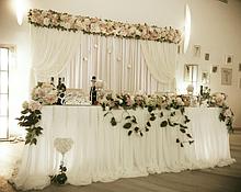Декор для зала на свадьбу