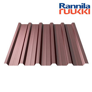 Металопрофіль  Rannila T35 Polyester  0.45мм