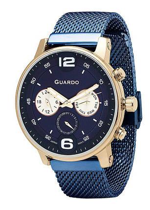Часы мужские Guardo 12432(2)-4 синие, фото 2