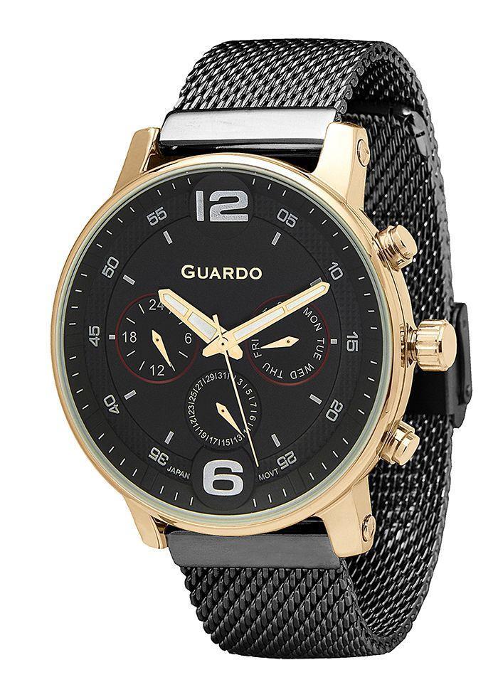 Часы мужские Guardo 12432(2)-5 черные