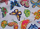 """Цельный купальник для девочки """"Butterfly"""" розовый р.134-146 (KEYZI, Польша), фото 2"""
