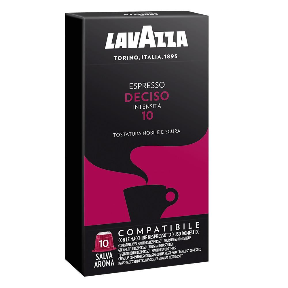 Капсулы Nespresso Lavazza Deciso 10шт
