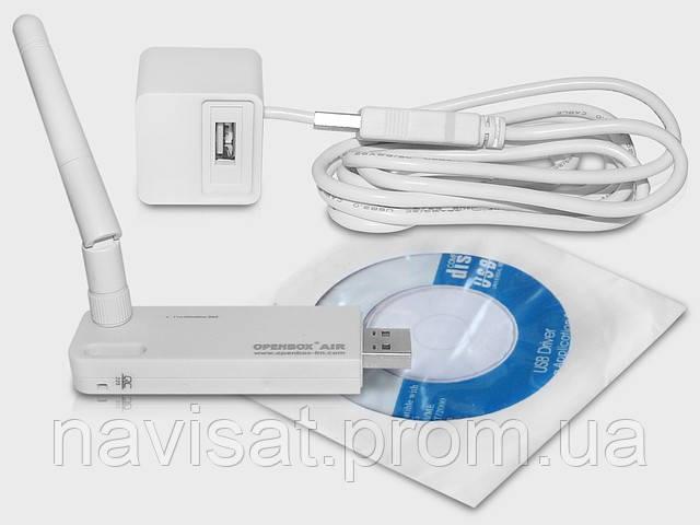 Openbox AIR Wi-Fi - беспроводной USB-адаптер - Интернет-магазин «NaviSat» Т2 тюнеры, спутниковое ТВ в Днепре