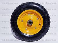 Колесо для тачки пневматическое 3,50-8+ось (Китай)