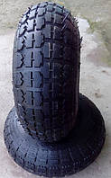 Шина,резина,покрышка для тачки 4.00-6 + камера, фото 1