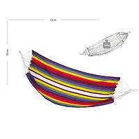 Гамак тканевый 100х210 см Разноцветный
