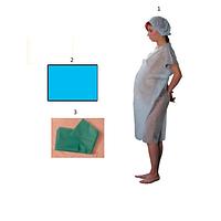 Комплект одноразовой одежды для гинекологического отделения стерильный