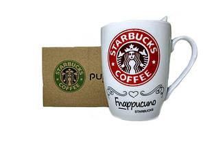 Чашка керамическая Starbucks с ложкой Red (gr006490)