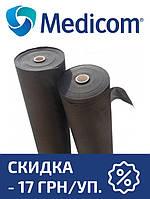 Одноразовая простынь в рулоне черная MEDICOM Economy 20г/м.кв 60 х 100, фото 1