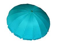 Зонт торговый, пляжный, садовый d 3,2 метра Anty UF  металлическая спица, напыление Бирюзовый