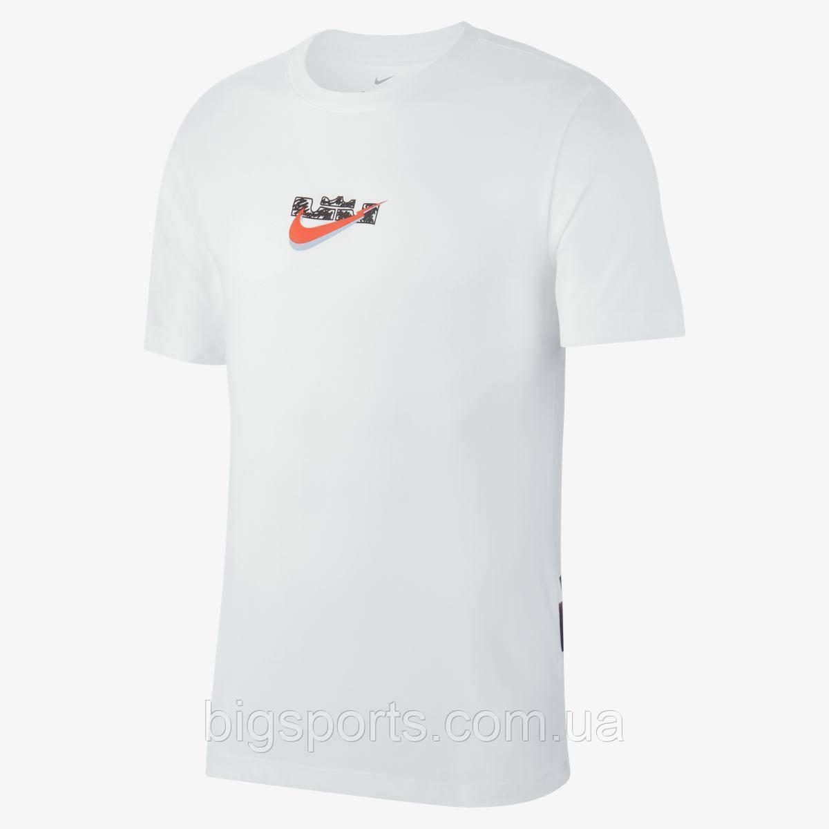 Футболка муж. Nike Lbj M Nk Dry Tee Df Ss 90 (арт. AJ9493-100)