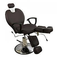 Гидравлическое педикюрное кресло ZD-346 (шоколадное)