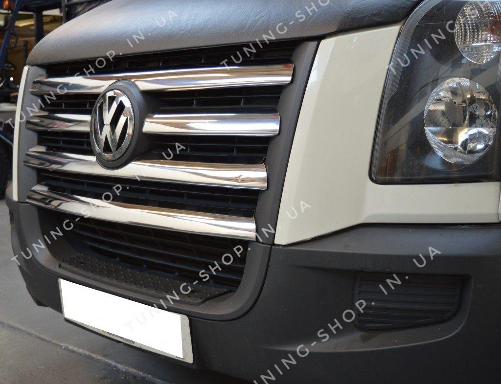 Накладки на решетку радиатора  Volkswagen Crafter 2006-2011