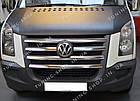 Накладки на решетку радиатора  Volkswagen Crafter 2006-2011, фото 2